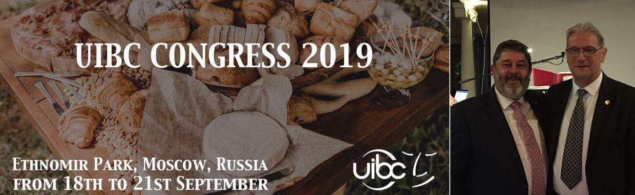 """Congreso UIBC 2019 en Rusia: """"Pan, Producto del Mundo"""""""