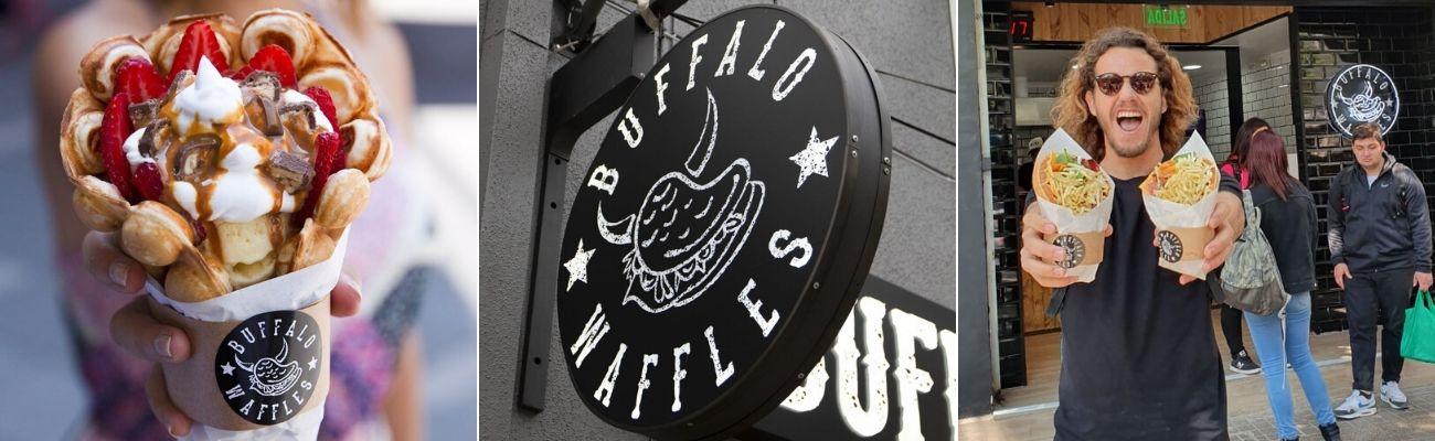 Buffalo Waffles: Sorprendentes, Sexys, Originales