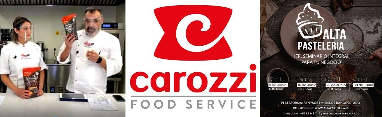 1er Seminario de Alta Pastelería; Carozzi Food Service se lleva los Aplausos