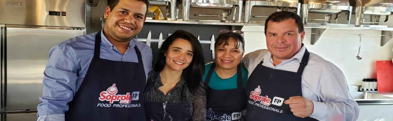 En Soprole; ¡Cocinando en equipo se aprende mejor!